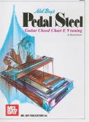 Mel Bay's Pedal Steel Guitar Chord Chart E 9 Tuning