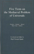 Five Texts on the Mediaeval Problem of Universals
