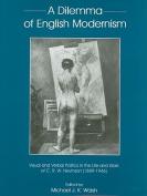 A Dilemma of English Modernism