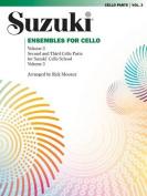 Suzuki Ensembles for Cello, Volume 3