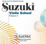 Suzuki Violin School, Vol 2  [Audio]