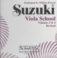 Suzuki Viola School, Vol 3 & 4  [Audio]