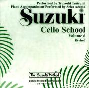 Suzuki Cello School, Volume 6  [Audio]