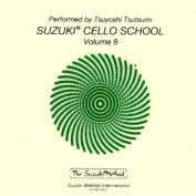 Suzuki Cello School, Volume 8  [Audio]