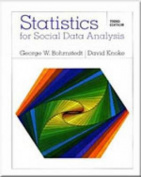Statistics for Social Data Analysis