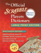 The Official Scrabble Players Dictionary [Large Print]