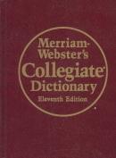 Merriam- Webster's Collegiate Dictionary (Leather-Look)