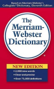 MERRIAM-WEBSTER MW-930 THE MERRIAM WEBSTER PAPERBACK DICTI-ONARY 4 3/16 X 6 3/4
