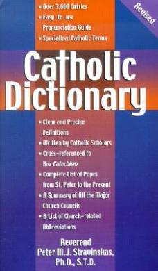Catholic Dictionary