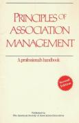 Principles of Association Management