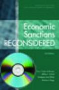 Economic Sanctions Reconsidered [With CDROM]