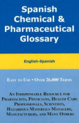 Spanish Chemical and Pharmaceutical Glossary