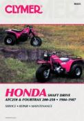 Honda Shaft Drive ATC250 and Fourtrax 200-250cc, 1984-87