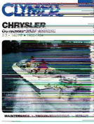 Chrysler Outboard Shop Manual 3.5-140 HP 1966-1984