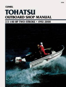 Clymer Tohatsu Outboard Shop Manual, 2.5-140 HP Two-Stroke, 1992-2000