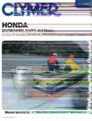 Honda Outboard Shop Manual
