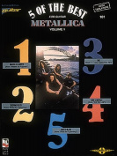 Metallica: 5 of the Best - For Guitar with Tablature