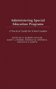 Administering Special Education Programs