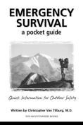 Mountaineers Books 100203 Emergency Survival a Pockt Guide - Christopher Van Tilburg