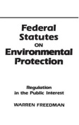 Federal Statutes on Environmental Protection