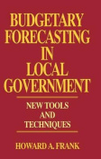 Budgetary Forecasting in Local Government