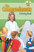 About the Commandments Colouring Book