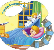 Angels Surround Us (St. Joseph Rattle Board Books) [Board book]