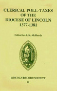 Clerical Poll-taxes in the Diocese of Lincoln, 1377-81