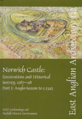 Norwich Castle: Excavations and Historical Survey 1987-1998: Pt. I: Anglo-Saxon to C.1345: Pt. II: C.1345-modern by Elizabeth Shepherd Popescu (East Anglian Archaeology Monograph)