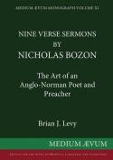 Nine Verse Sermons by Nicholas Bozon