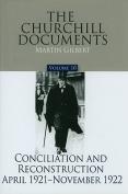 Conciliation and Reconstruction, April 1921-November 1922