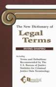 The New Dictionary of Legal Terms