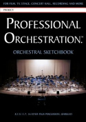 Professional Orchestration 16-Stave Unruled Orchestral Sketchbook
