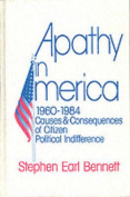 Apathy in America, 1960-1984