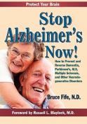 Stop Alzheimer's Now!