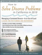 How to Solve Divorce Problems in California in 2010