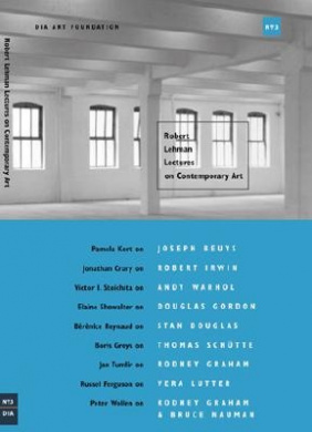 Robert Lehman Lectures on Contemporary Art: No.3
