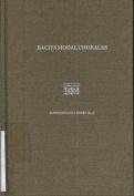Bach's Modal Chorales