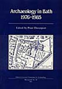 Archaeology in Bath 1976-1985