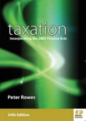 Taxation: Incorporating Finance Acts