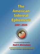 The American Sidereal Ephemeris 2001-2025
