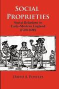 Social Proprieties