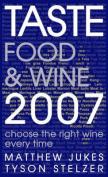 Taste Food and Wine