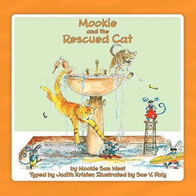 Mookie and the Rescued Cat