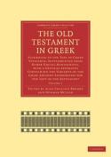The Old Testament in Greek 4 Volume Paperback Set
