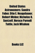 United States Astronomer Introduction