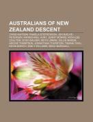 Australians of New Zealand Descent