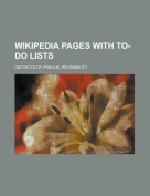 Wikipedia Pages with To-Do Lists