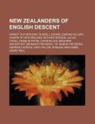New Zealanders of English Descent