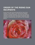 Order of the Rising Sun Recipients